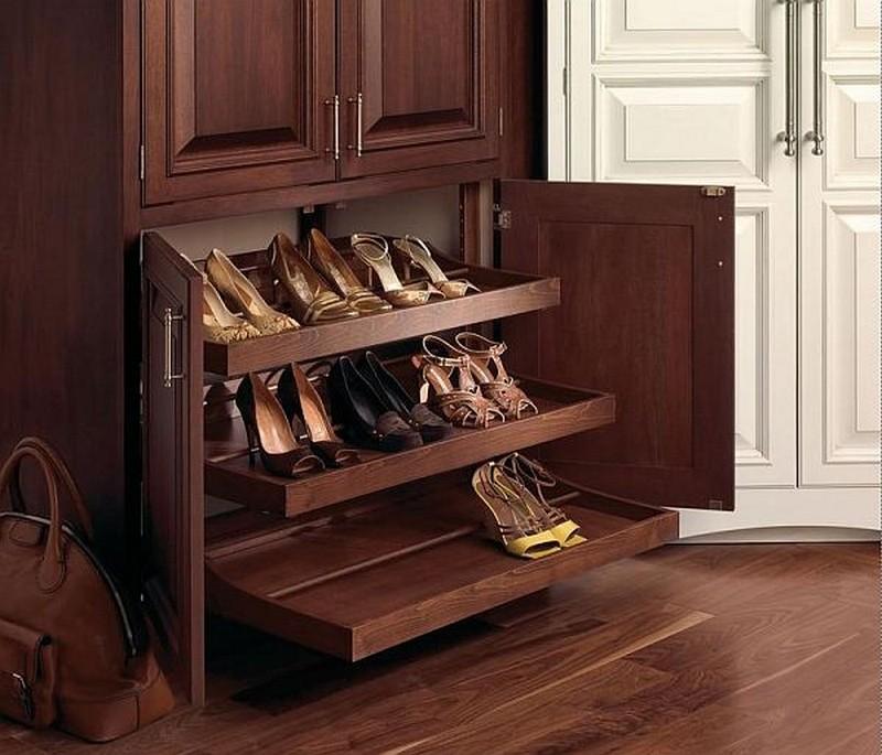 Мебель своими руками полки для обуви